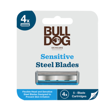 Sensitive Steel Blades